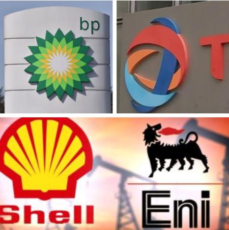 Les géants pétroliers