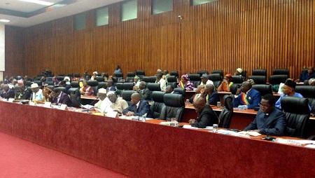 L'Assemblée nationale guinéenne a adopté ce jeudi 9 mai un nouveau Code civil faisant de la monogamie la règle. © RFI/Coralie Pierret