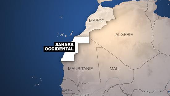 Le Sahara occidental et ses voisins. © RFI