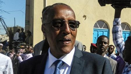 Muse Bihi Abdi, président du Somaliland, le 13 novembre 2017 à Hargeisa. © AFP