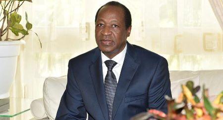 L'ex-président du Burkina Faso, Blaise Compaoré . AFP