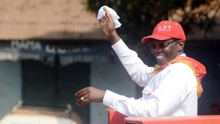 Ibrahima Kassory Fofana le 27 février 2012 à Conakry (image d'illustration). © CELLOU BINANI / AFP