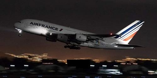 'A380 d'Air France entre Abidjan et Paris a dû faire demi-tour après la panne de l'un de ses réacteurs. pHOTO:apr-news
