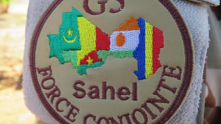 La force conjointe G5 Sahel. © RFI/Olivier Fourt