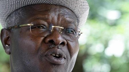 Agbéyomé Kodjo à Lomé, Togo, le 24 février 2020. PIUS UTOMI EKPEI / AFP