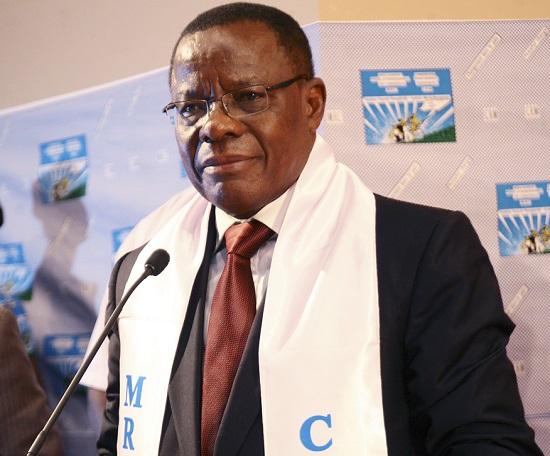 Maurice Kamto, président du Mouvement pour la Renaissance du Cameroun