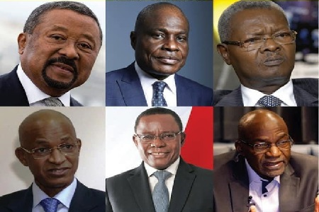 Les leaders d'oppositions africains