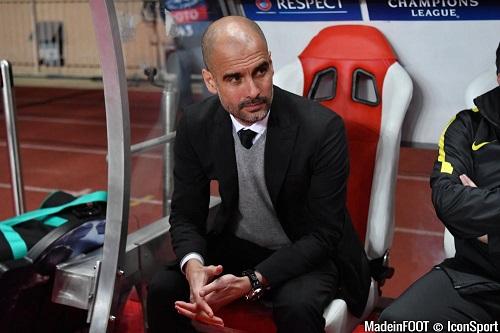 Pep Guardiola, entraîneur catalan de Manchester City
