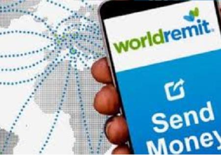 WorldRemit, Transfert et de réception d'argent  - llustration