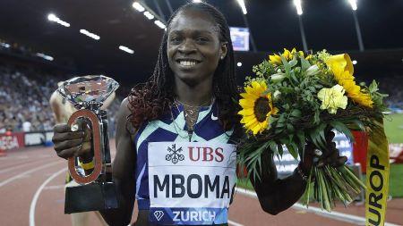 La Namibienne Christine Mboma, spécialiste du 400 m