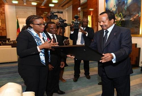 Vera Songwe le méritait, le président de la République, Paul Biya lui a déroulé le tapis rouge