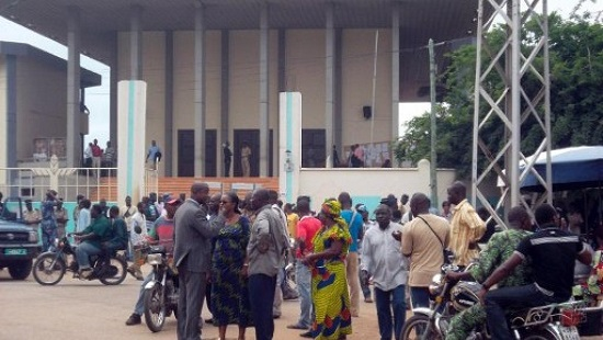 Tribunal de Lomé (photo d'archives). © © AFP/Emile Kouton