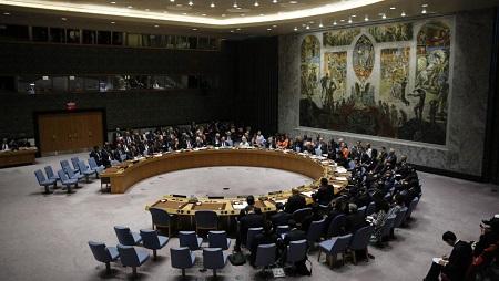 La salle du Conseil de sécurité de l'ONU à New York. © REUTERS/Eduardo Munoz