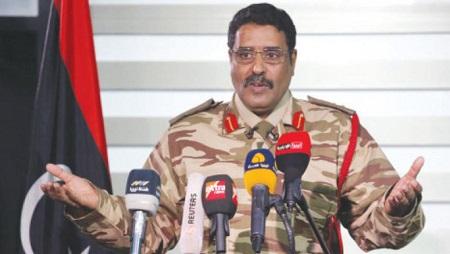 Ahmed al-Mismari, le porte-parole de l'Armée nationale libyenne, a rejeté toute négociation depuis les Emirats (image d'illustration) © Wikimedia commons/Reuters