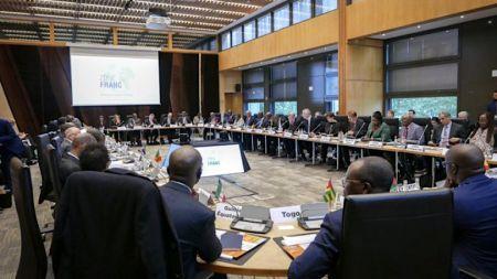 Les présidents des institutions régionales et les gouverneurs des banques centrales, membres de la famille CFA, réunis à Paris