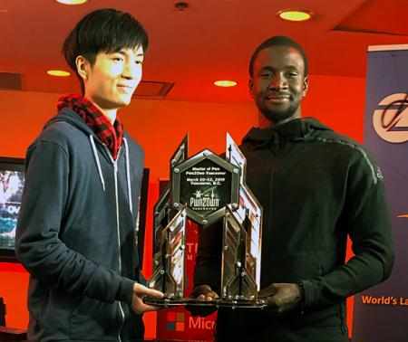 Amat Cama et Richard Zhu sont deux des jeunes qui ont aidé Musk à rendre leurs véhicules plus sûrs