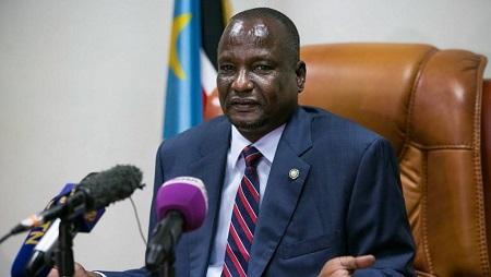 Le premier vice-président sud-soudanais Taban Deng Gai. © Akuot CHOL / AFP