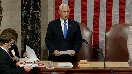 Michael Richard Pence, vice-président des États-Unis