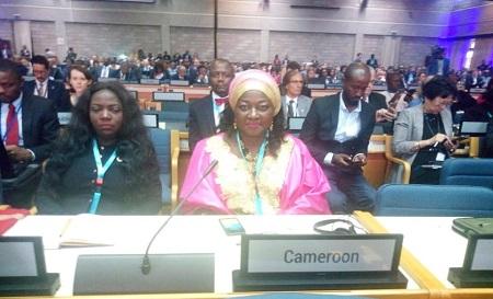 Célestine KETCHA COURTES, Ministre de l'Habitat et du Développement Urbain a Conduit la délégation Camerounaise à la 1ère session de l'Assemblée Générale d'ONU-Habitat du 27- 31 Mai 2019 à Nairobi
