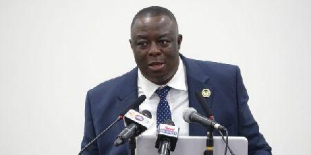 Lawrence Agyinsam, directeur général de la Ghana Export-Import Bank