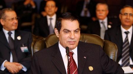 Zine al Abidine Ben Ali en 2008.   REUTERS/JAMAL SAIDI