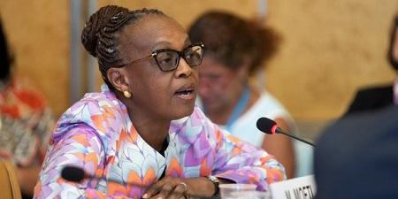 Dr Mashidiso Moeti, directrice de l'OMS Afrique (Crédits : DR)