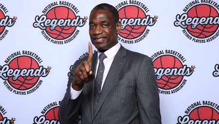 Dikembe Mutombo. David Sherman / NBAE / Getty Images / AFP