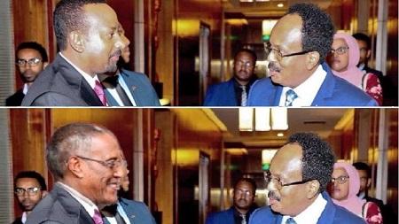 La rencontre de mardi 11 février entre le Somalien Mohamed Abdullahi Farmaajo et Muse Bihi du Somaliland a été organisée par le Premier ministre éthiopien Abiy Ahmed