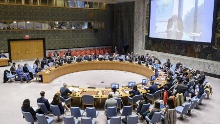 Le Conseil de sécurité de l'ONU. © Manuel ELIAS / UNITED NATIONS / AFP