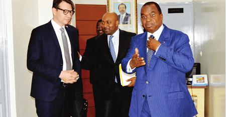 Reçu le 18 juillet dernier à Yaoundé par le Ministre camerounais des Finances (Minfi), Louis Paul Motaze, Boris Joseph, Directeur général (DG) du groupe français Banque populaire caisse d'épargne (BPCE)