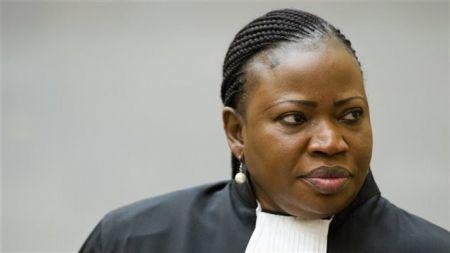 La procureure de la Cour pénale internationale (CPI), Fatou Bensouda