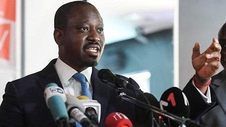 L'ancien leader rebelle ivoirien et candidat recalé à l'élection présidentielle, Guillaume Soro
