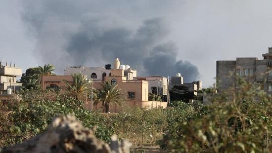 Affrontements à Tripoli le 28 août 2018. (Illustration) © REUTERS/Hani Amara/File Photo