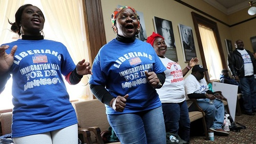 L'administration américaine a décidé d'accorder un sursis aux migrants libériens vivant sur le territoire américain