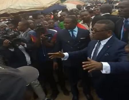 Le Premier ministre Chef du gouvernement camerounais, Joseph Dion Nguté qui poursuit des consultations dans les régions anglophones