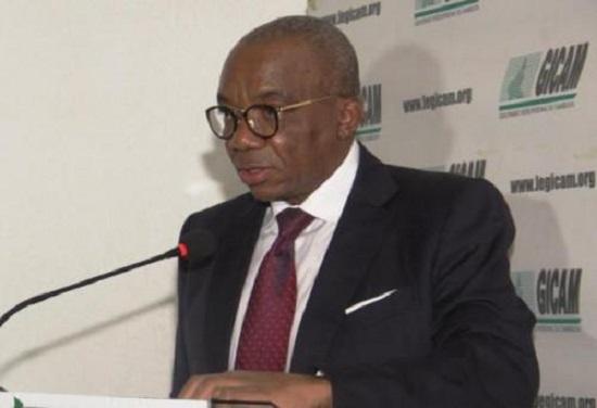 Célestin Tawamba, le président du Groupement inter-patronal du Cameroun (Gicam)