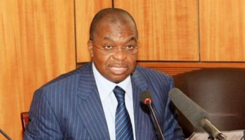 Louis Paul Motaze, le ministre des Finances,