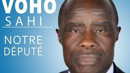 Alphonse Voho Sahi, ancien ministre de la Culture sous la présidence de Laurent Gbagbo