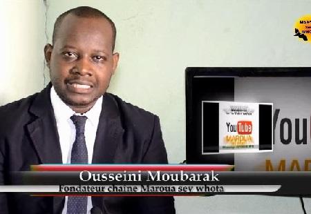 Ousseini Moubarak, fondateur de la chaîne publique Maroua Sey Whota
