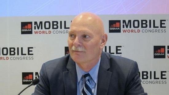 John Hoffman, PDG de la GSMA et promoteur principal du Mobile World Congress / CG