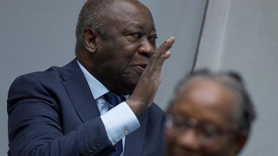 L'ancien président ivoirien Laurent Gbagbo à la Cour pénale internationale, à La Haye, le 15 janvier 2019. © Peter Dejong/Pool via REUTERS